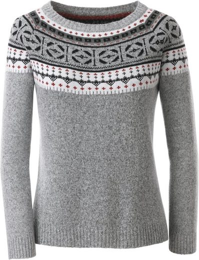 Collection L. Pullover mit hübschem Norwegermuster