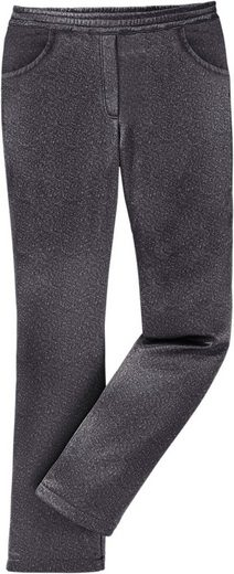 Classic Basics Soft Shell Pants With Round-dehnbund