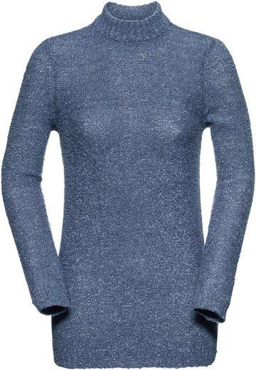 Classic Basics Pullover in Bouclé-Qualität