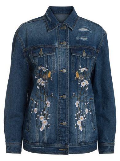 Pieces Jeans Jacke