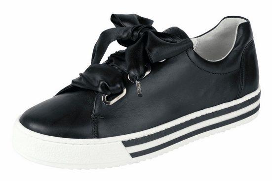 GABOR Sneaker mit breiten Schnürsenkeln