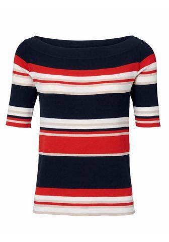 HEINE STYLE dryžuotas megztinis su viskozė