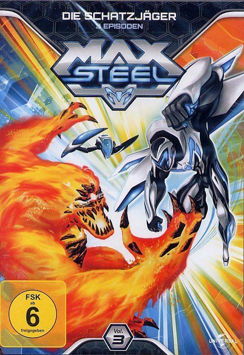 Universal Max Steel Vol. 3 - Die Schatzjäger »DVD«