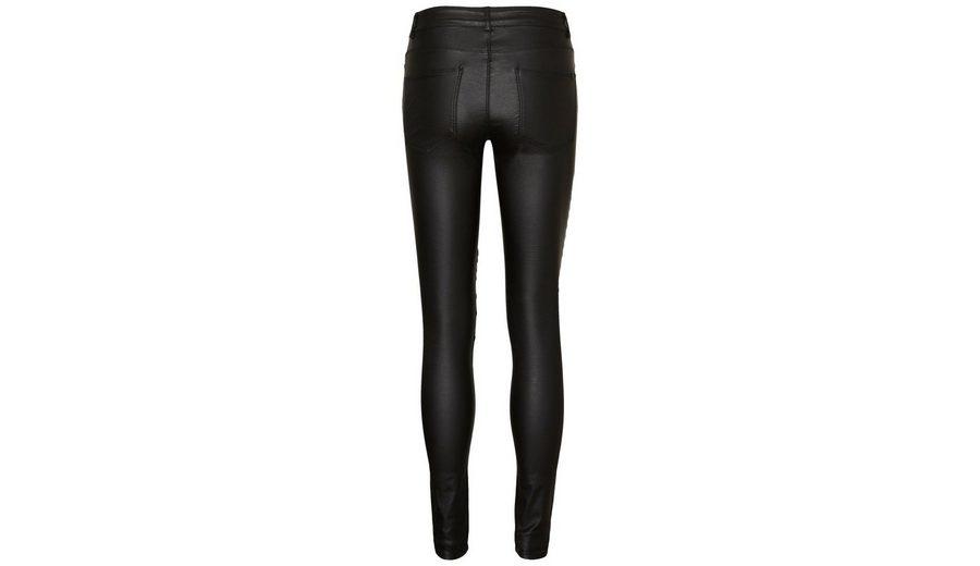 Noisy may Beschichtete Lucy NW Biker- Jeans Vorbestellung kCZ4Q