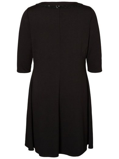 JUNAROSE 3/4-Ärmel- Kleid