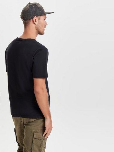 ONLY & SONS Bedrucktes T-Shirt