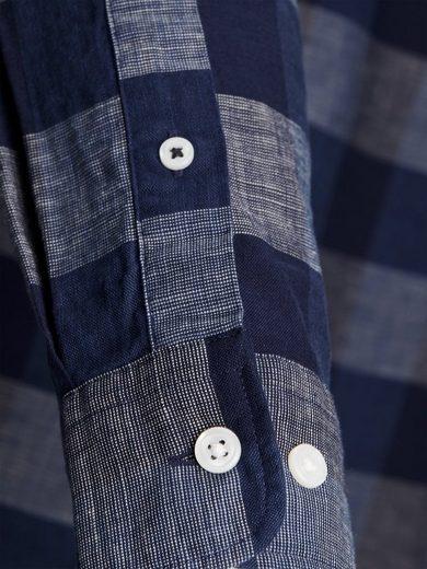 Jack &; Jones Karomuster- Langarmhemd