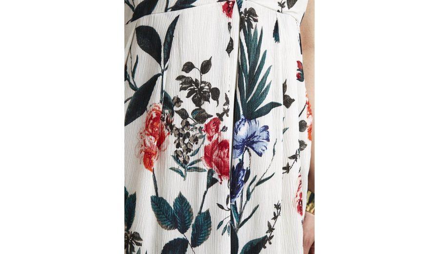 Vila Feminines, gemustertes Kleid