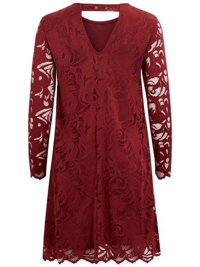 Vila A-förmiges Spitzen- Kleid