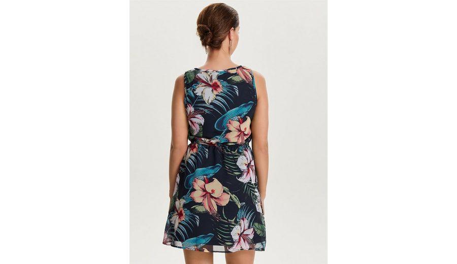 Only Bedrucktes Kleid ohne Ärmel Verkauf Erkunden wbNUrb