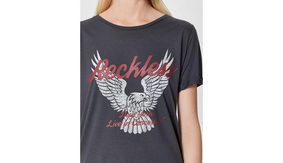 Selected Femme Print- T-Shirt Billig Kaufen Authentisch Die Günstigste Günstig Online Günstig Kaufen Angebot H9nIa8xd