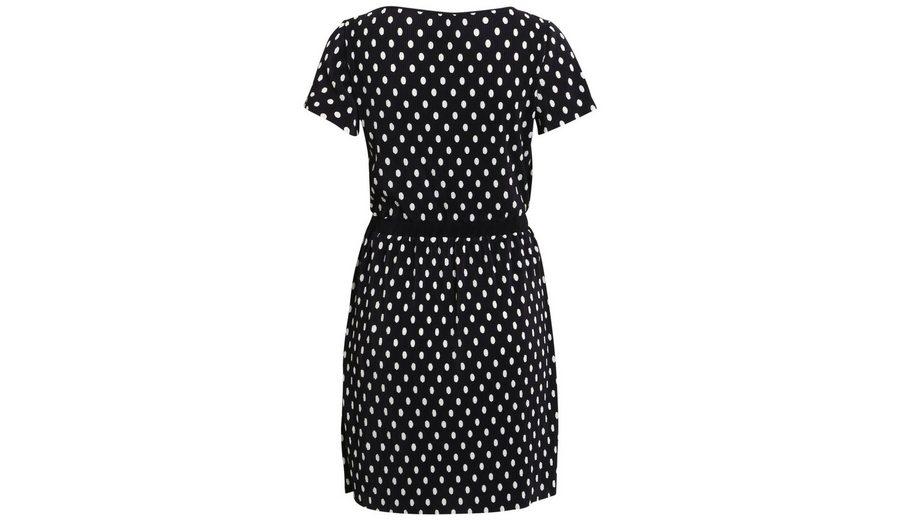 Vila Gemustertes Kleid mit kurzen Ärmeln Günstig Kaufen Billig BrvwL