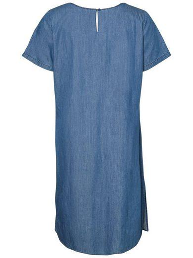 JUNAROSE Jeans-Optik- Kleid