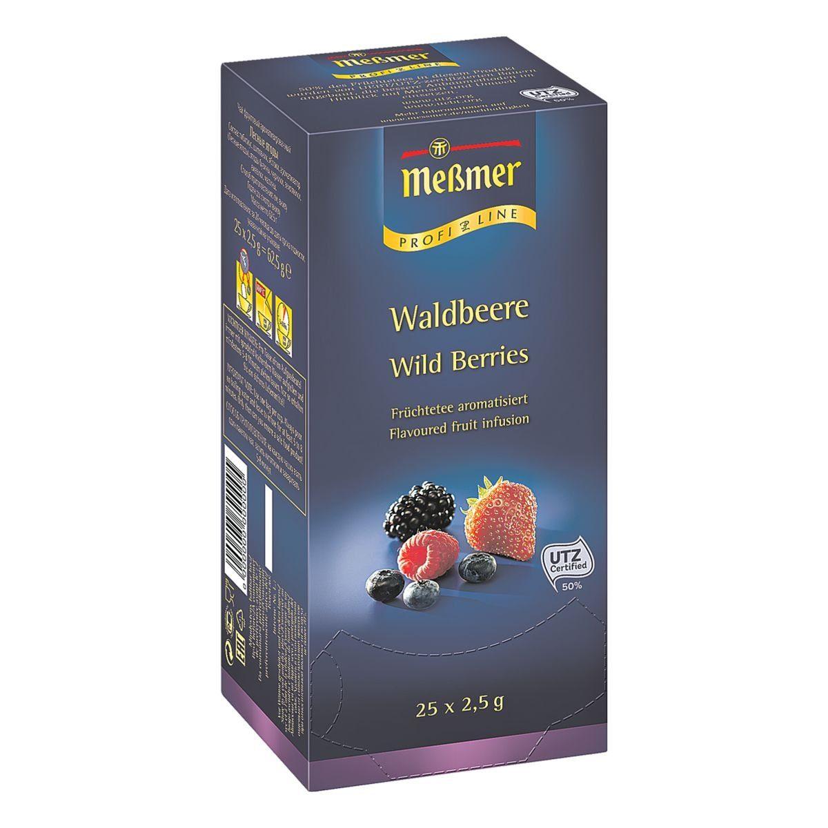 Meßmer Tee »Profi Line Waldbeere«