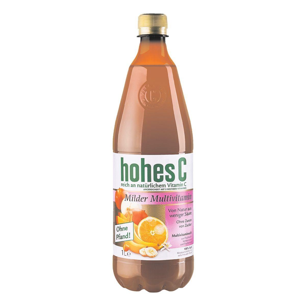 HOHES C Fruchtsaft »Milder Multivitamin«