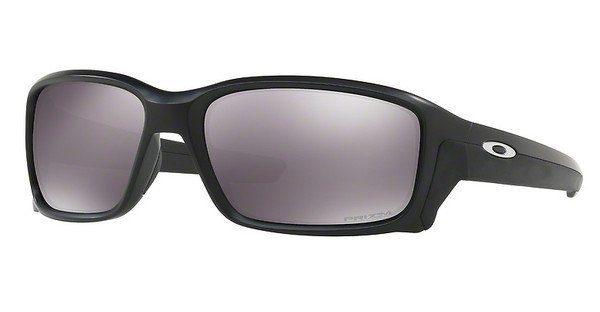 Oakley Herren Sonnenbrille »Straightlink OO9331«, schwarz, 933114 - schwarz/schwarz