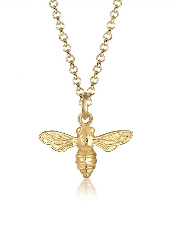 Elli Halskette »Biene Tier Trend Sommer 925 Sterling Silber« - Preisvergleich