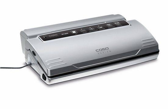 Caso Vakuumierer VC 300 Pro, inkl. 2 Profifolienrollen und 1 Vakuumierschlauch