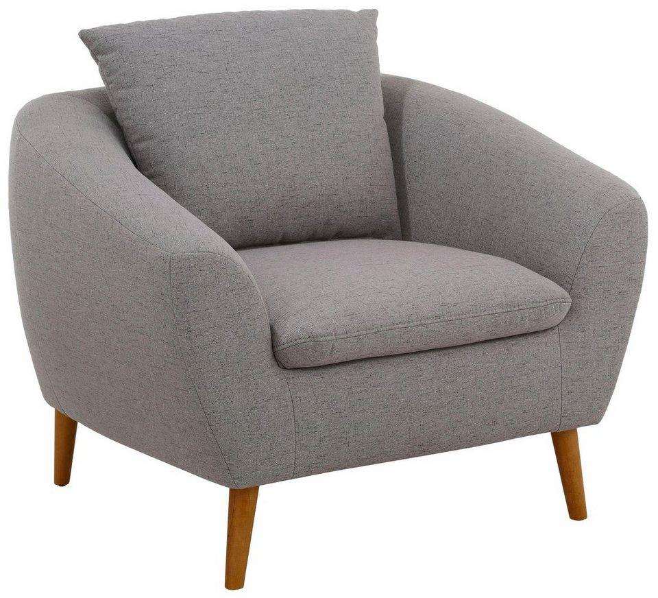 Home affaire Sessel »Amadeo« im skandinavischem Design, lose ...
