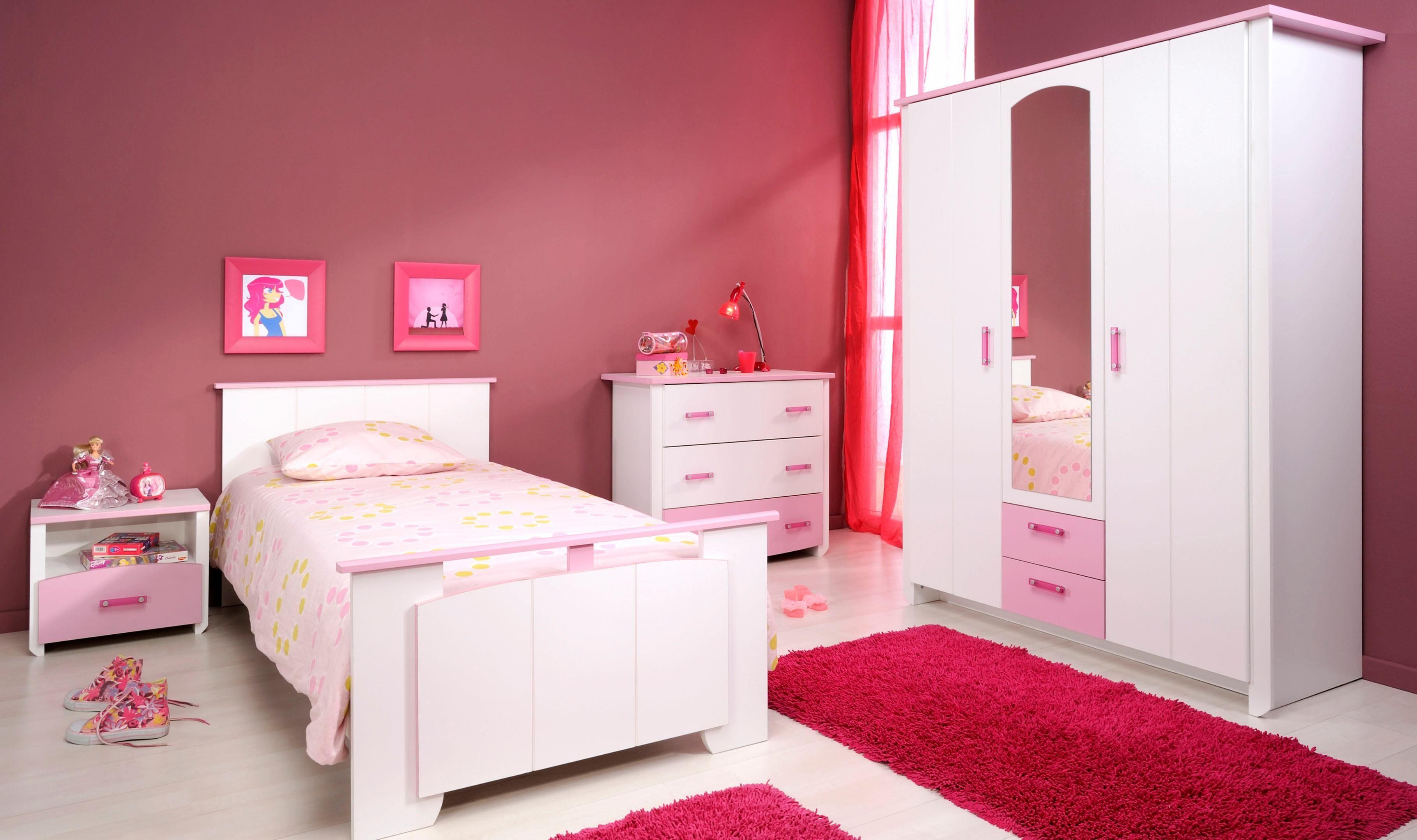 Parisot Jugendzimmer-Set (4-tlg.) »Biotiful«, mit Kleiderschrank und Kommode