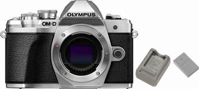 Olympus »E-M10 Mark III Body« Panoramakamera (16,1 MP, WLAN (Wi-Fi), Panorama-Modus, Videoaufnahmen in 4K 2160p)