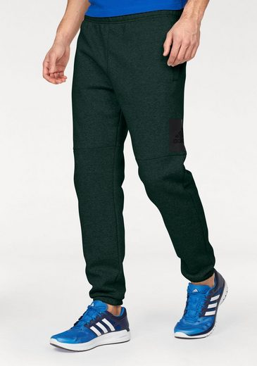 adidas Performance Jogginghose ESSENTIALS BOX LOGO TAPERED PANT FLEECE