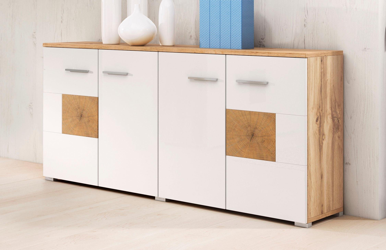 weiss hochglanz weiss sideboards online kaufen m bel suchmaschine. Black Bedroom Furniture Sets. Home Design Ideas