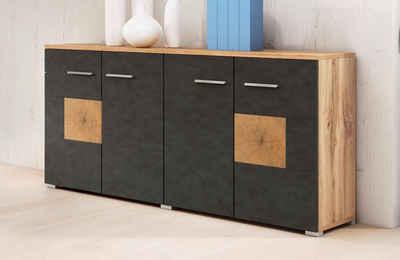 Sideboard weiß schwarz hochglanz  Sideboard online kaufen » Hochglanz & Klassisch | OTTO