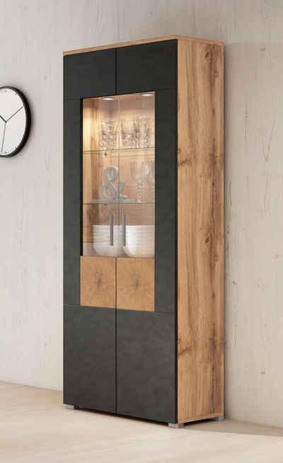 wohnzimmer-vitrinen modern & klassisch » kaufen | otto, Wohnzimmer dekoo