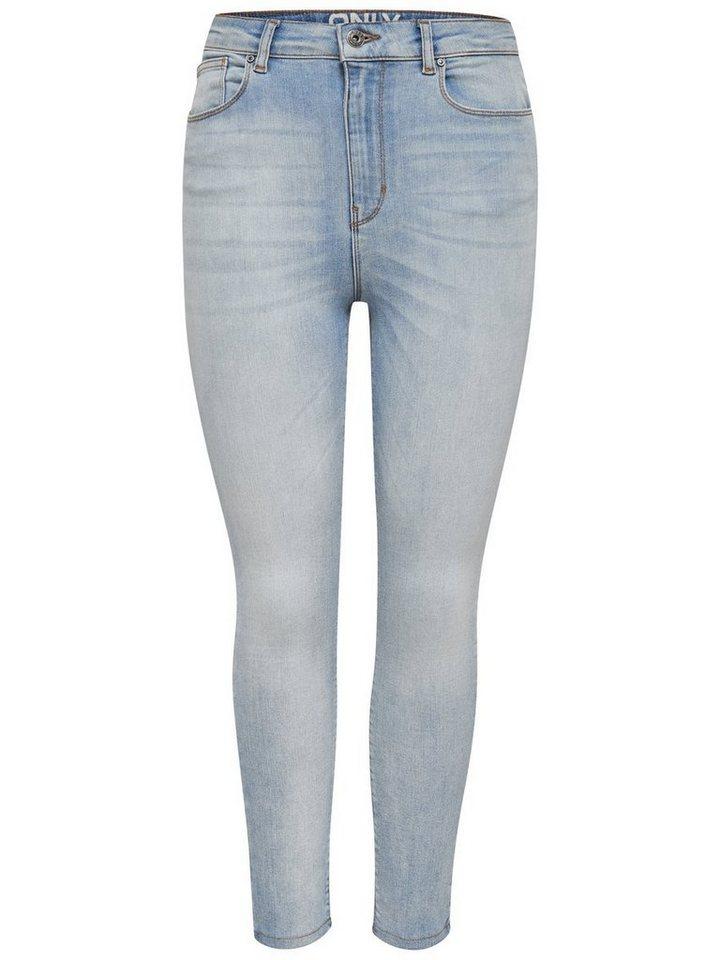 only posh highwaist crop skinny fit jeans kaufen otto. Black Bedroom Furniture Sets. Home Design Ideas