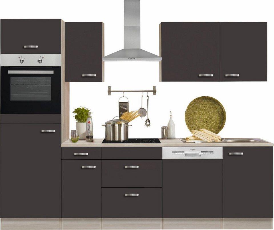 Küchenzeile Faro ~ optifit küchenzeile ohne e geräte faro , breite 270 cm online kaufen otto