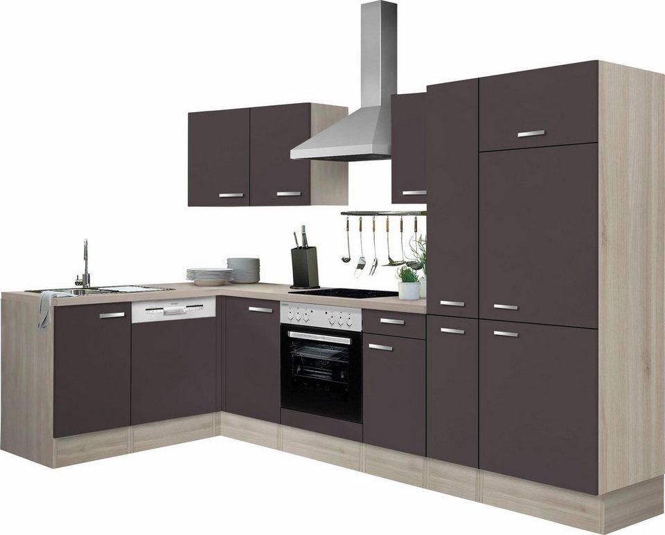 OPTIFIT Winkelküche »Faro«, Ohne E Geräte, Stellbreite 300 X 175 Cm