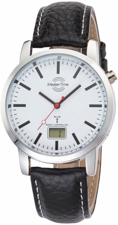 MASTER TIME Funkuhr »MTGA-10592-20L«