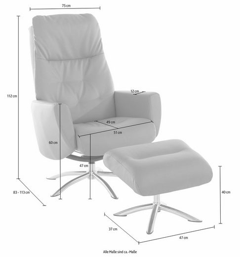COTTA Relaxsessel  mit Recliner-Funktion