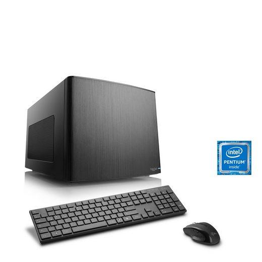 CSL Mini-ITX PC, Pentium G4560, Intel HD 610, 8 GB DDR4, SSD »Multimedia Box T1893 Windows 10«