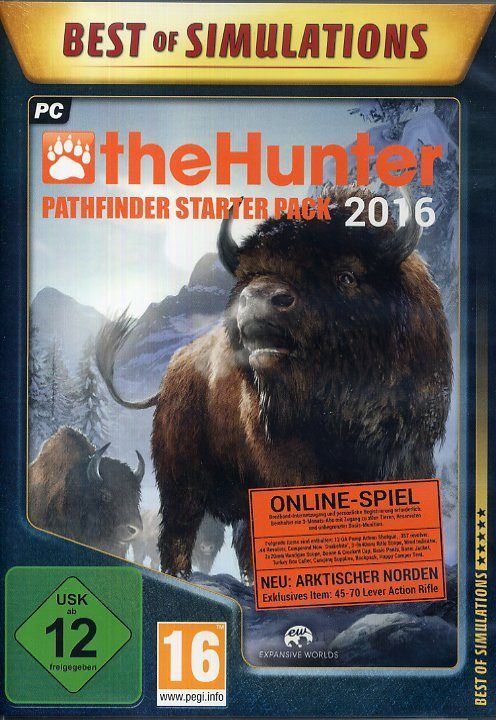 Astragon theHunter 2016 (Best of Simulation) »PC«