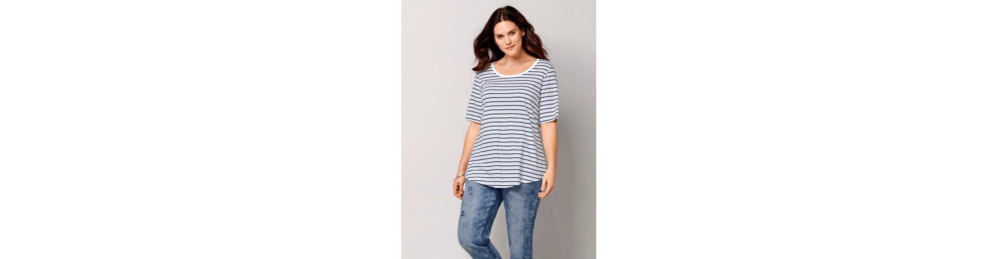 Janet und Joyce by Happy Size Shirt gestreift Spielraum Neueste Footlocker Finish Online Online-Shop Verkauf Rabatt Billig Authentisch LgrJE