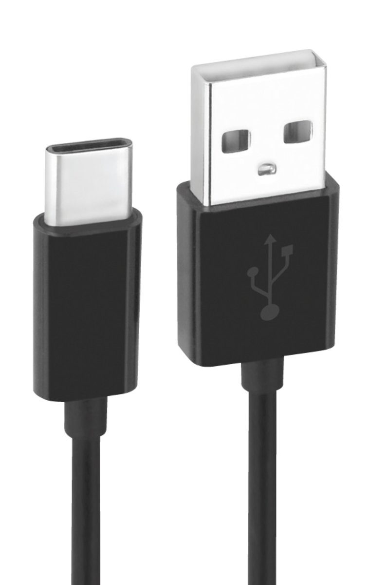 Fontastic Lader »Essential Datenkabel USB-C auf USB-A 2.0 1m«