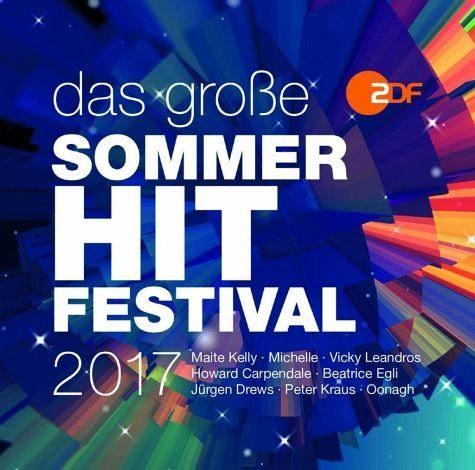 Audio CD »Various: Das Große Sommer-Hit-Festival 2017«