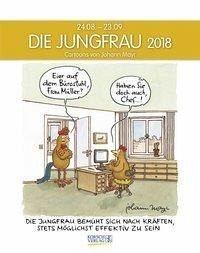 kalender die jungfrau 2018 sternzeichen cartoonkalender online kaufen otto. Black Bedroom Furniture Sets. Home Design Ideas