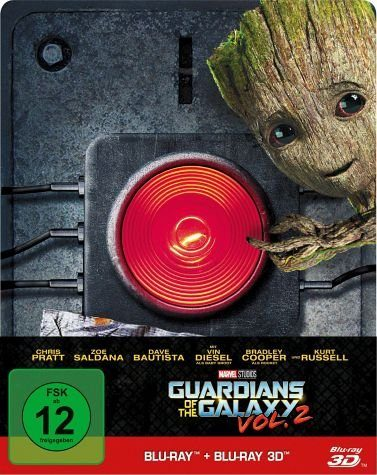 Blu-ray »Guardians of the Galaxy Vol. 2 Blu-ray 3D + 2D...«
