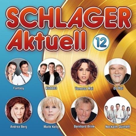 Audio CD »Diverse: Schlager Aktuell 12«