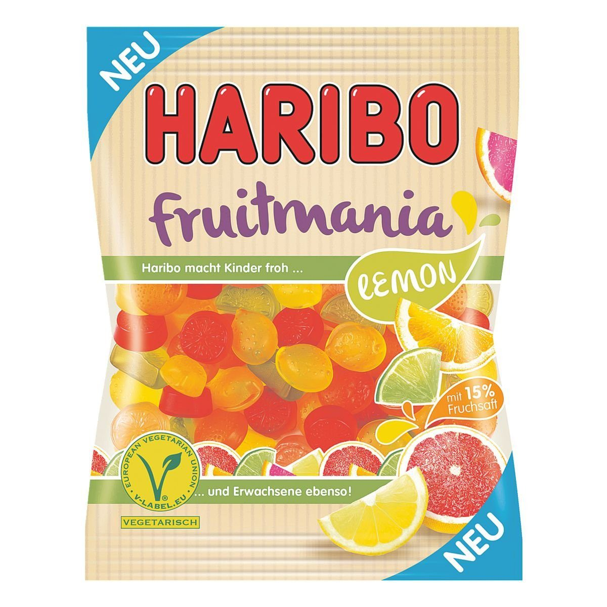 Haribo Fruchtgummi »Fruitmania Lemon«