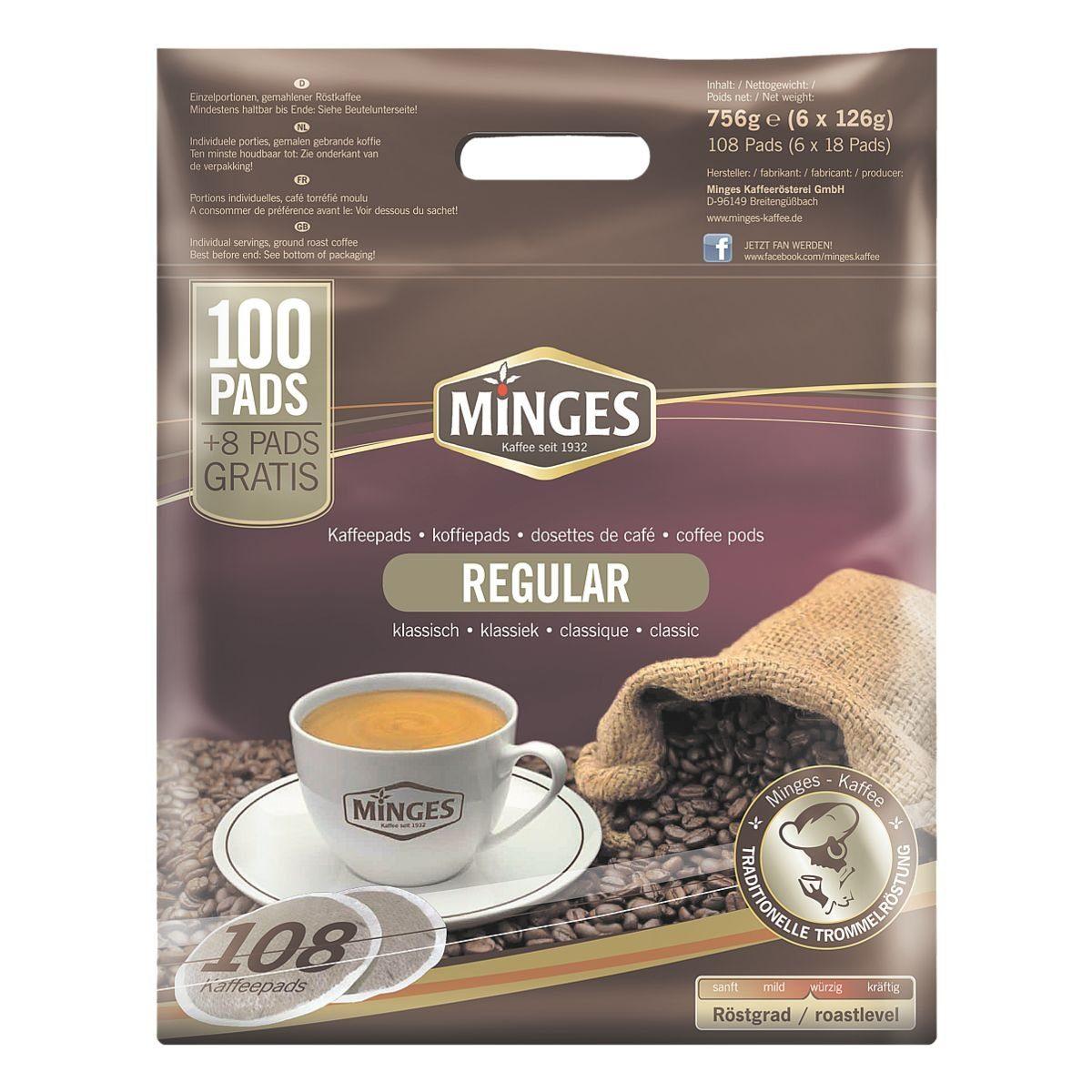 Kaffeepads »Regular«