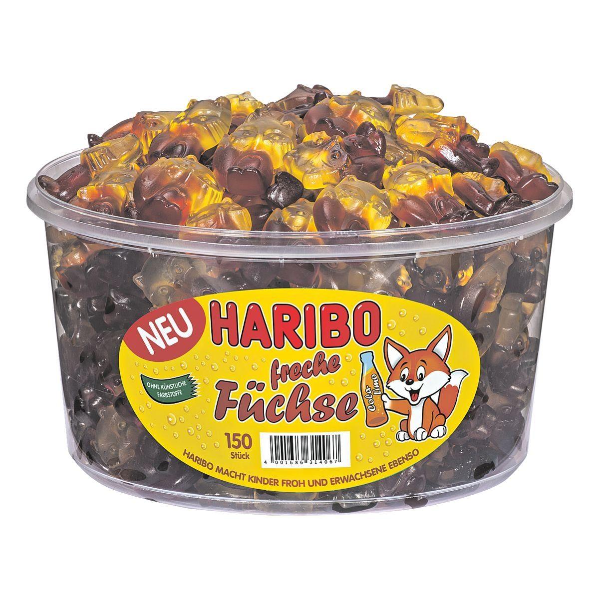 HARIBO Fruchtgummi »Freche Füchse«