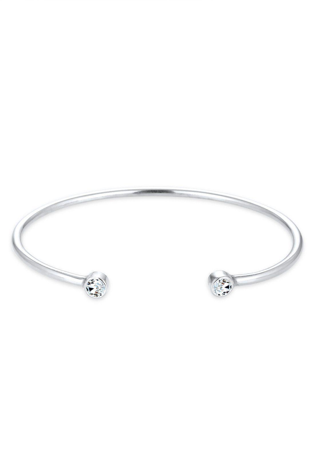 Elli Armband »Trend Geo Swarovski® Kristalle 925 Sterling Silber«