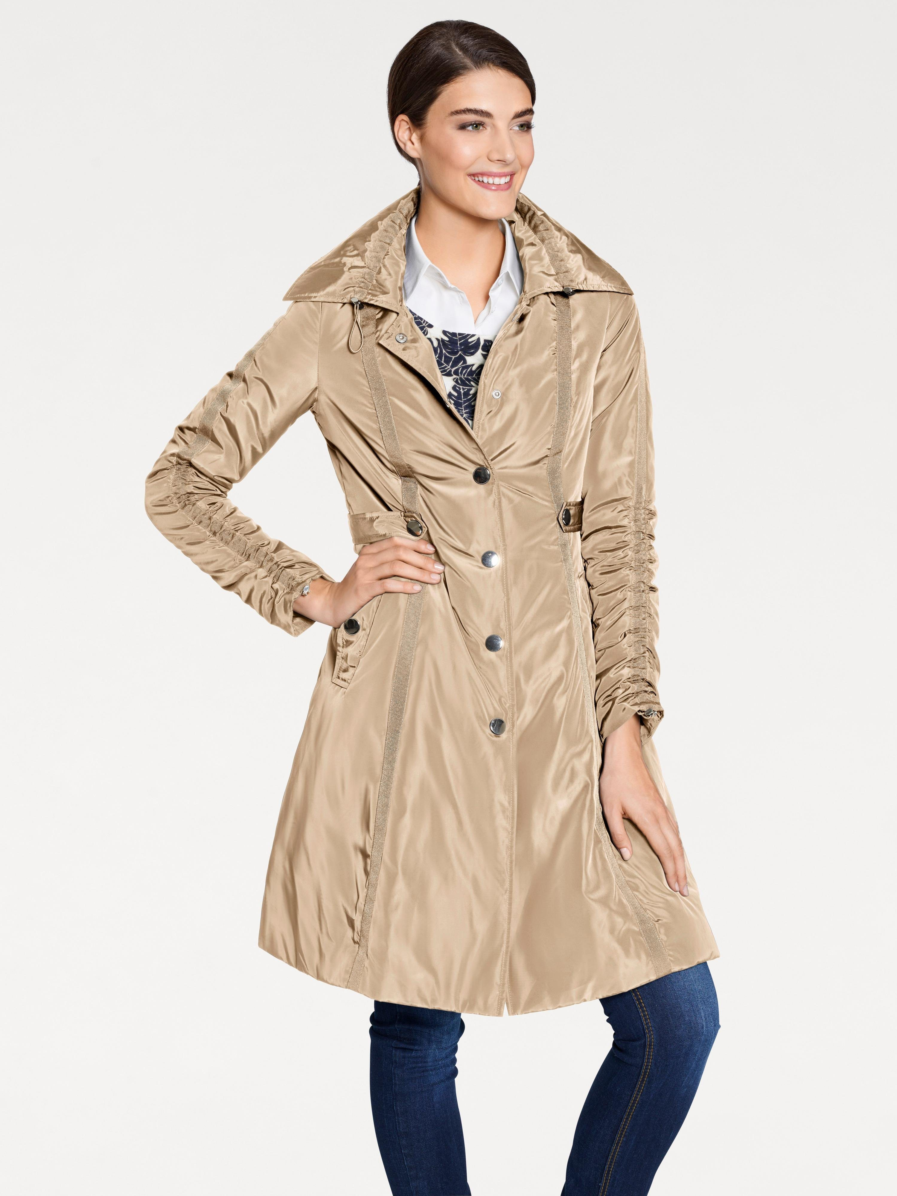 PATRIZIA DINI by Heine Trenchcoat mit Tunnelzug | Bekleidung > Mäntel > Trenchcoats | Ca - Polyester | PATRIZIA DINI by Heine