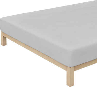 Spannbettlaken »Frottee-Stretch«, Schlafgut, extra voluminös