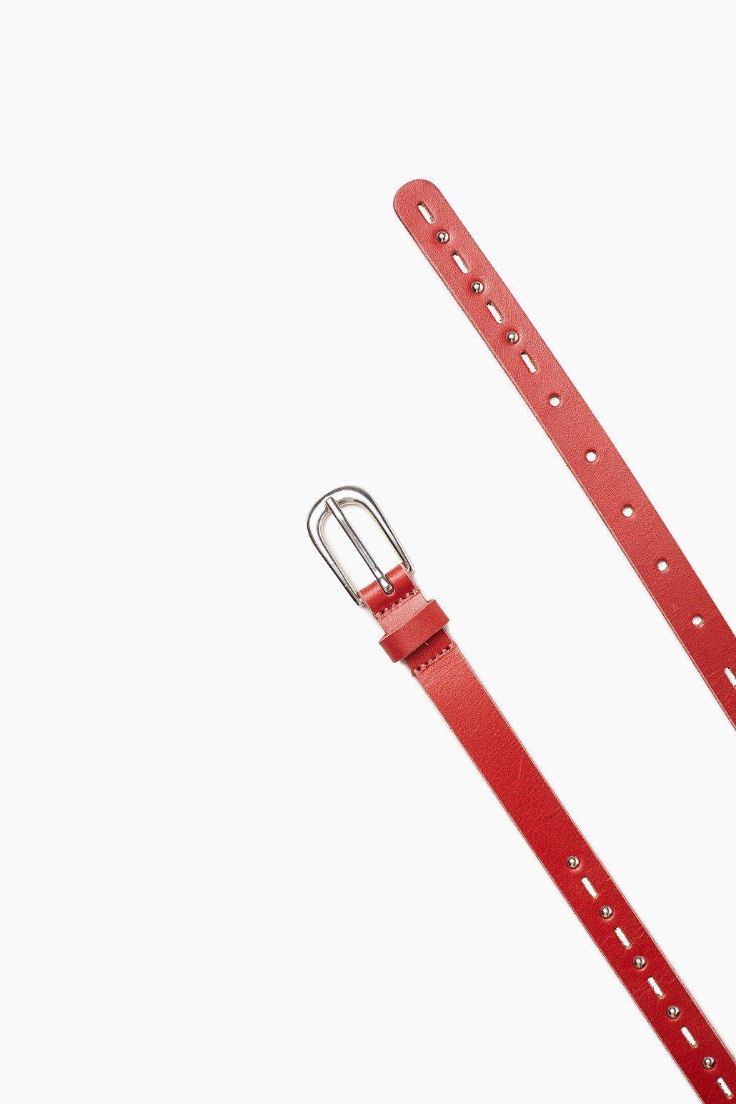 EDC Leder-Gürtel mit Kugelnieten