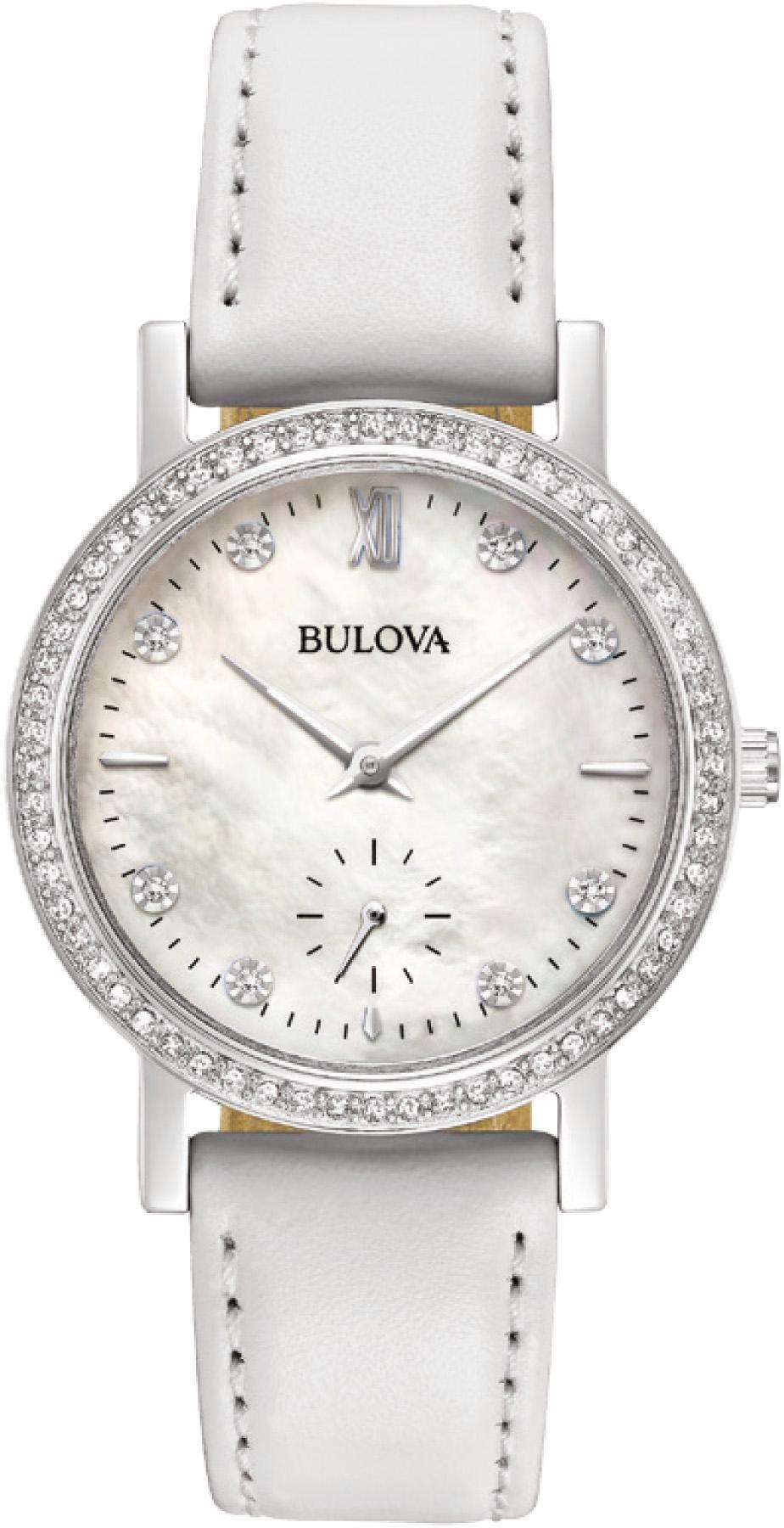 Bulova Quarzuhr »96L245«, mit kleiner Sekunde